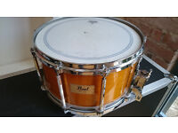 Pearl 14 x 8 Free Floating Snare - Maple shell with case.