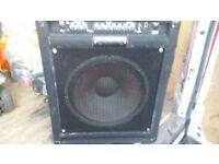 Crate 100 W Bass Amp