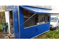 Catering Trailer 12ft x 7ft 3 REDUCED PRICE