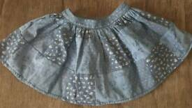 M&S girls skirt SIZE 1.5 -2 years old