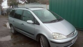 FORD galaxy DIESEL 7 seater NEW MOT march 2019