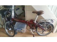 💙 bickerton 1707 fold up bike 💛 reduced £360