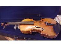 Beautiful hand made Violin