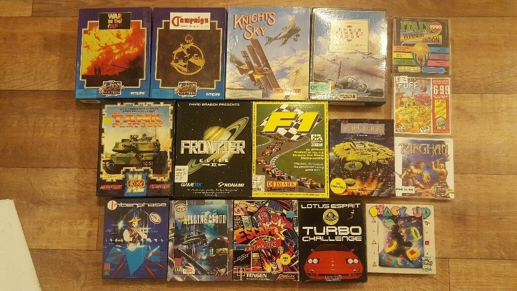 Atari ST Games collection  Top Titles, Tested / Working! | in Beccles,  Suffolk | Gumtree