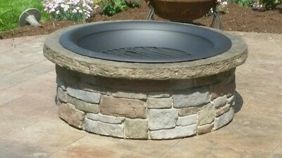 Concrete Fire Pit Seat Wall Form Liner - Tightstack Stone 13 X 6 Walttools
