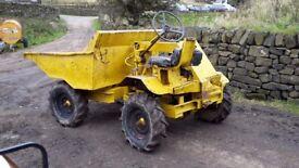 Thwaites 3ton 4x4, Hydraulic Tip, Dumper