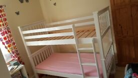 BUNK BED and 2 matresses