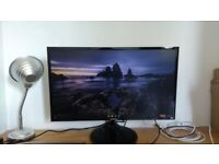 27 inch Samsung LED Monitor - Under 1 Year Old - In Box