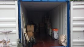Insulated 20' x 8 ' Self Storage Container Lockups Near A47 in NR9 Lenwade. 24/7 Space. No deposit