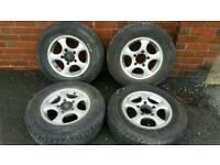 Suzuki Vitara Alloy Wheels and Tyres
