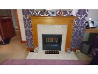 Wood fire surround only!