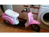 Girls Razor Electric Scooter
