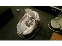 Ingenuity rocking vibrating baby chair with songs rrp £99.99