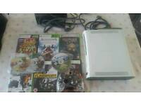 Xbox 360 arcade edition with games
