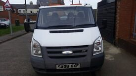 Ford transit recovery truck 140 bhp 6speed