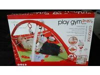Baby play gym and support ring