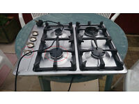 gas hob with electric starter