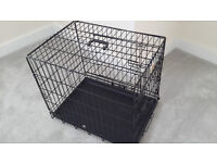 Dog crate in excellent condition - folds up easily for storage