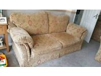 Two and three seater sofa and chair