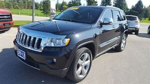 2012 Jeep Grand Cherokee Overland 4X4 | Navigation | Local Trade Kitchener / Waterloo Kitchener Area image 2