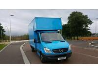 Mercedes sprinter luton box van