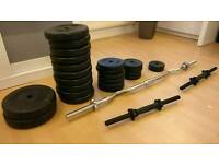 Physionic gym weights dumbbells fitness
