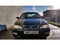 2002 [52] HONDA ACCORD 2.0 VTEC EXECUTIVE AUTO -1 OWNER -47.000 MILES -1 YEARS MOT(PART EX WELCOME)