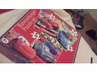 Cars jigsaw puzzle, 3 in a box age 4+
