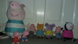 Peppa Pig soft toy characters
