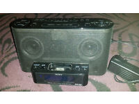 Sony XDR-DS12iP DAB radio docking system for iphone or ipod