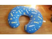 Boppy nursing pillow and two covers