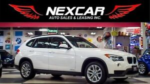 2015 BMW X1 XDRIVE AUT0 AWD LEATHER PANO/ROOF P/SEAT 99K