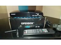 OPENBOX V8S Digital Satellite Receiver HD + Wifi Dongle UK