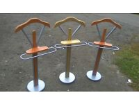 Valet stands, choice of three