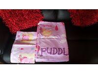 Single Peppa Pig Duvet Set And Curtains