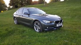2012 BMW 320d SPORT GREY Professional Media- 184bhp, £30 tax, Low Mileage, Great Spec (3 Series F30)