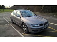 SEAT LEON 1.6 SX Good Condition 1 female owner from new MOT until August 2017