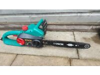 Bosch chain saw working order just switch on off plays!could be easy fix!