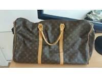 Genuine Luis Vuitton travel bag bargain cost 1700