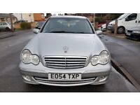 Mercedes-Benz C Class 2.1 C220 CDI Elegance SE 5dr Automatic Silver Facelift Spare or Repair