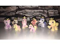 Filly Princess: Magic (2010) ponies AND VERY RARE PRINCESS CRYSTAL!!!