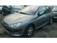 PEUGEOT 206 AUTOMATIC 1.4 CHEAP AND CHEERFUL