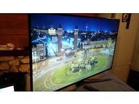 "SAMSUNG UE55JU6800 ,55inch"" 4K ULTRA HD SMART TV.. Sensational Nano Crystal Colour. like new.Boxed"