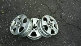 165/70/14R Rare VW Polo alloys set of 3 or individually