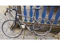 Specialized Sirrus Hybrid Bike with Bike Computer