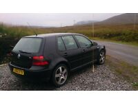 VOLKSWAGEN VW GOLF V5 170 HIGHLINE SANTA MONICA MK4 IN GOOD COND LOW MILES TOP SPEC RECARO LEATHER