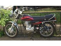 125CC | low mileage | all papers included.