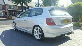 Honda Civic Type R EP3 ***TDi North 244BHP BIG SPEC***