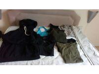 10 piece Ladies Bundle of clothes (M 8-10)