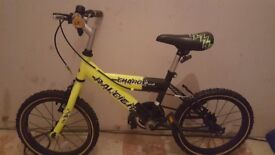 Boys Raleigh charge 12 inch bike with v brakes
